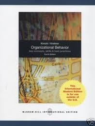 buy outlines highlights for organizational behavior key  buy outlines highlights for organizational behavior key concepts skills best practices by angelo kinicki robert kreitner isbn 9780073381411