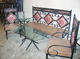 Wrought iron furniture designs ideas.