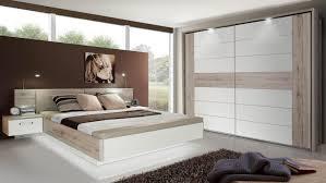 Schlafzimmer 1 Rondino Komplettset In Sandeiche Weiß Hochglanz Mit Led