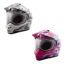Adult Gmax Gm11s Dual Sport Snowmobile Helmet Adventure