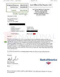 Best Ideas Of Bank Of America Credit Card Settlement Letter About
