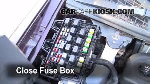 replace a fuse 2005 2008 chevrolet uplander 2008 chevrolet 6 replace cover secure the cover and test component