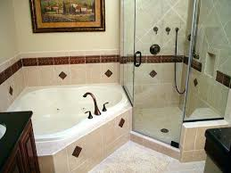 corner whirlpool tub and glassed in shower make the most of pertaining to corner whirlpool tub corner whirlpool tub