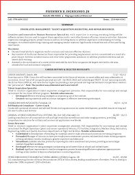 Awesome Acquisition Resume Example Personal Leave