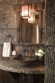 Log Cabin Bathroom Decor 17 Best Ideas About Lodge Bathroom On Pinterest Country Large