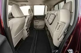 2019 honda ridgeline interior back cabin seats folded up