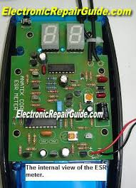 Tested The Blue Esr Meter Electronics Repair And