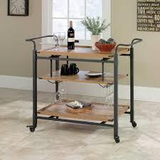 rustic portable kitchen island. Black Iron Portable Kitchen Island Cart With Glass Holder Co Rustic T