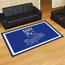 kansas city royals mlb 5 x 8 area rug carpet