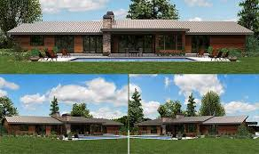 contemporary ranch house plans. Fine House W69510AM6 This Stunning Contemporary Ranch Style Home Plan To Contemporary Ranch House Plans U