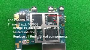 Redmi 1s Display Light Solution Redmi Note 1s Tested 100 Solution For Display Light