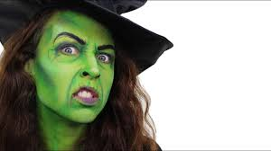 make your friends green with envy with this resting witch face snazaroo
