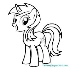 My Little Pony Coloring Pages Sunset Shimmer At Getdrawingscom