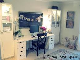 eclectic office furniture. Ikea Home Office Furniture Eclectic With Chalkboard Vintage Elements Planner R