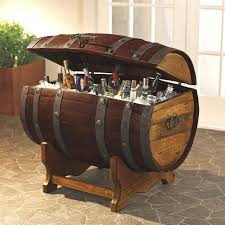 whiskey barrel furniture awesomely creative whiskey barrel furniture ideas intended for oak barrel table and chairs