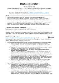 sourcing buyer resume stephane bonneton experienced international buyer detailed cv slideshare