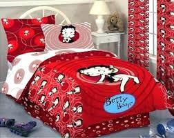 betty boop bedroom set bed