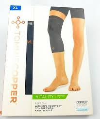 Tommie Copper Recovery Compression Knee Sleeve New Sizes S M