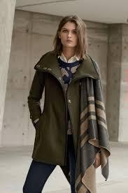kristen blake faux fur trim hooded wool blend duffle coat burberry brit waltford belted wool blend coat