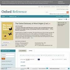 Word Origins Website Oxford Dictionary Of Word Origins Pearltrees