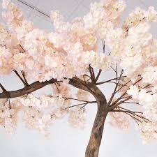 Fake Cherry Blossom Tree With Lights 11 Feet Tall Grand Arch Fake Cherry Blossom Tree Blush Light Pink