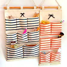 wall pocket organizer brief fashion hanging organizer wall pocket storage bags linen fabric multi layer sorting