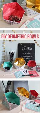 cute office organizers 1000 ideas. Wonderful Ideas Can You Believe These Cute Geometric Bowls Are Actually Made Of Scrapbook  Paper Learn To Cute Office Organizers 1000 Ideas E