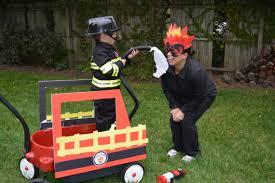 firefighter costume for family