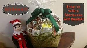 starbucks gift basket giveaway
