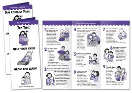 baby pamphlets ten tips help your child grow and learn