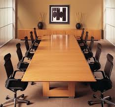 office conference room. interior impressive office meeting room design ideas with amazing great bright brown glossy conference table and stylish black height arm chairs