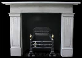 antique georgian york stone fireplace surround