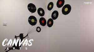 diy vinyl record wall art tutorial