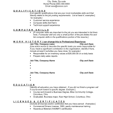 Resume Skills List Examples With Words To Describe Customer Service