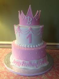 Baby Girl Birthday Cakes Ba Girls First Birthday Cake Princess Cake