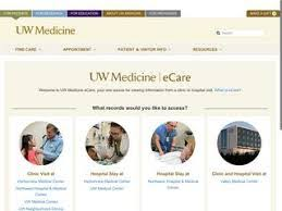 49 True To Life Uw Physicians Ecare Login