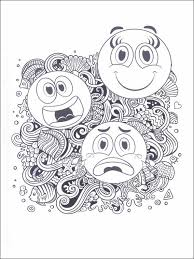 Emojis Emoticons Emoties Kleurplaten 19