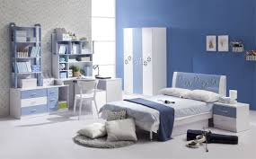 modern blue master bedroom. Bedroom, Blue Master Bedroom Ideas Simple Nailhead Border Oxford Wood Headboard Brown Platform Bed With Modern E