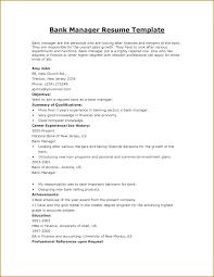 Cover Letter Sample Resume For Bank Job Sample Resume For Bank Job