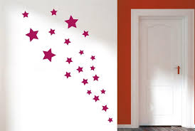 Small Picture Removable Various Color Stars Decorative Wall Stickers Vinyl Wall