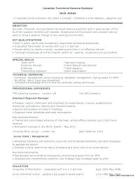 Hybrid Resume Examples Combination Resume For Career Change