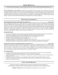 Hr Manager Resume Sample Resume Hr Operations Generalist Hr Resume ...
