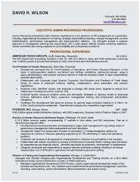 Sample Resume For Hr Recruiter Position Terrific Information Gate