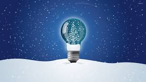 Christmas tree in a light bulb wallpaper - Holiday wallpapers - #50380