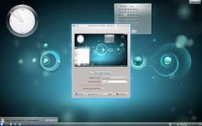 kde desktop snapshot
