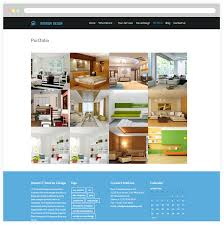 Small Picture Free Responsive Interior Design Wordpress theme