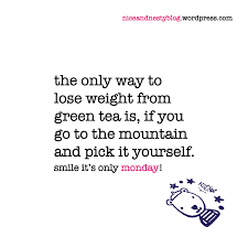 Green Tea Days Of The Week Humor Funny Quotes About Life Life