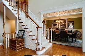 best paint colors with wood trimIs there a trend to paint interior stained wood trim white