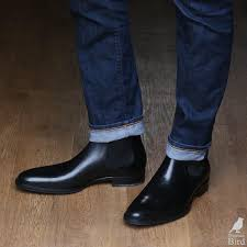 Black chelsea boots will make your outfit look dressier, while tan or brown boots will add a casual touch.4 x research source katie quinn. How To Wear Chelsea Boots Definitive Style Guide Thomas Bird