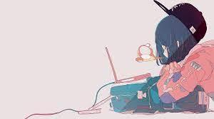 1920x1080 Girl, Anime, Laptop wallpaper ...